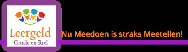 Stichting Leergeld Goirle en Riel Logo